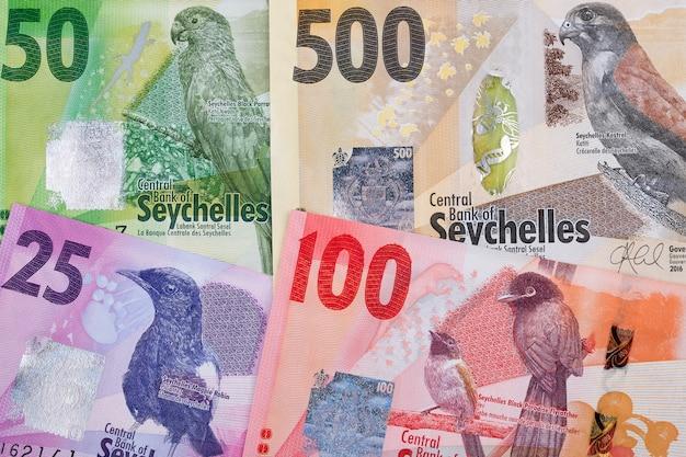 Argent des seychelles issu du monde des affaires
