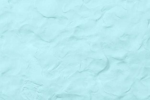 Argile bleue fond texturé style abstrait art créatif fait main coloré