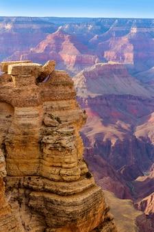 Arizona grand canyon, parc national, mother point, états-unis