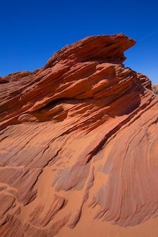 Arizona roches sur la page près de antelope canyon