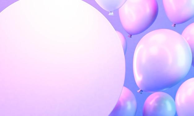 Arrangement de ballons dégradés