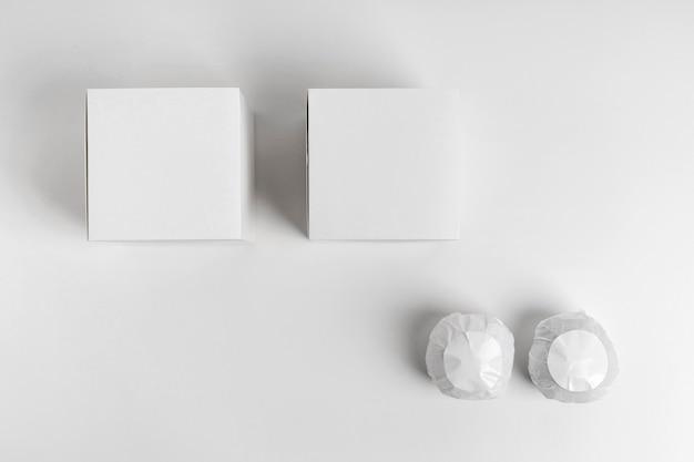 Arrangement de bombes de bain emballées à plat