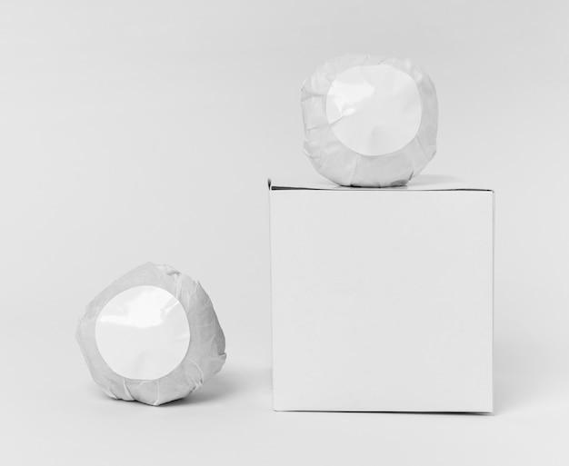Arrangement de bombes de bain emballées