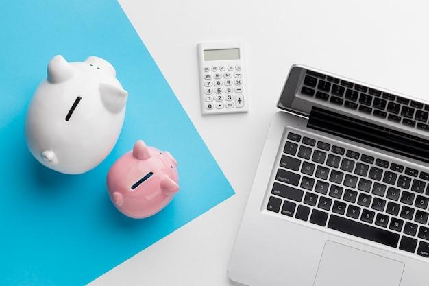 Arrangement avec éléments financiers