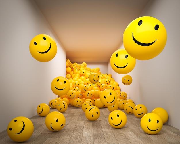 Arrangement d'emojis pour la journée mondiale du sourire