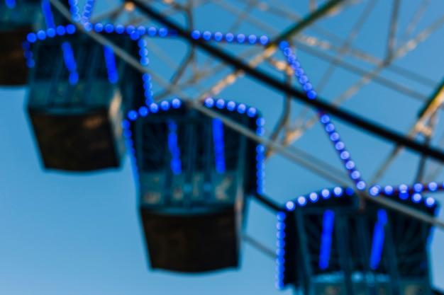Arrangement de faible angle avec la roue de carnaval