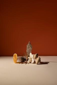 Arrangement de nature morte d'automne