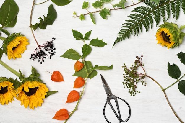 Arrangement oral floral rustique