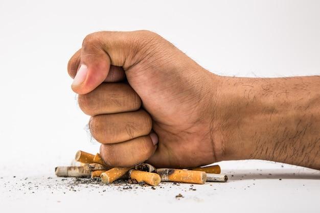 Arrêter de fumer. journée mondiale sans tabac
