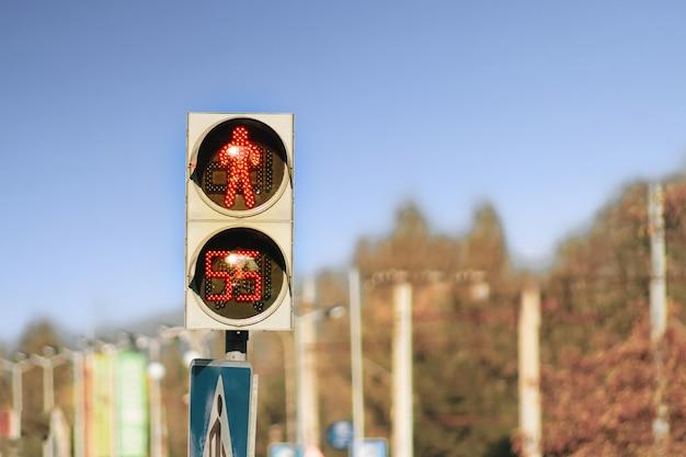 Arrêtez le feu de circulation avec chronomètre