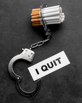 Arrêtez de fumer des cigarettes