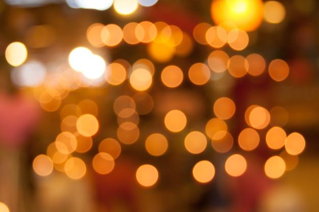 Arrière-plan coloré bokeh lumière