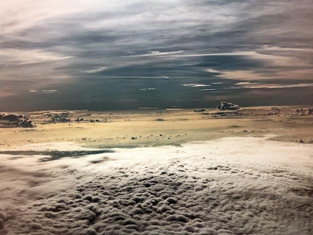 L'arrière-plan de conception d'art abstrait du ciel