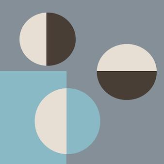 Arrière-plan avec un design géométrique à la mode applicable aux affiches de bons de couverture