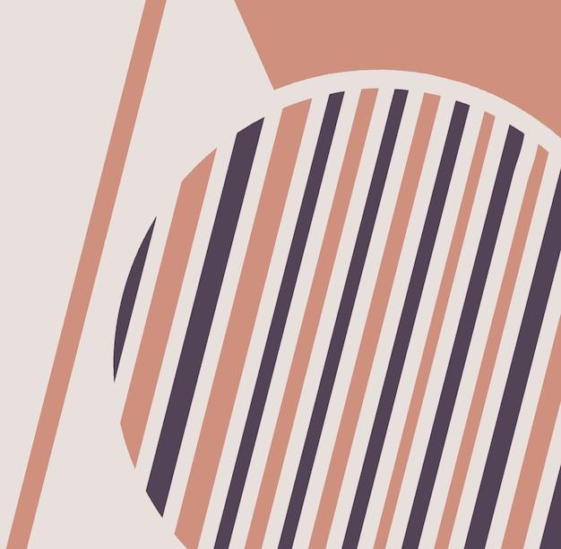 Arrière-plan avec un design géométrique à la mode applicable pour les couvertures, les affiches de bons, les dépliants et les bannières