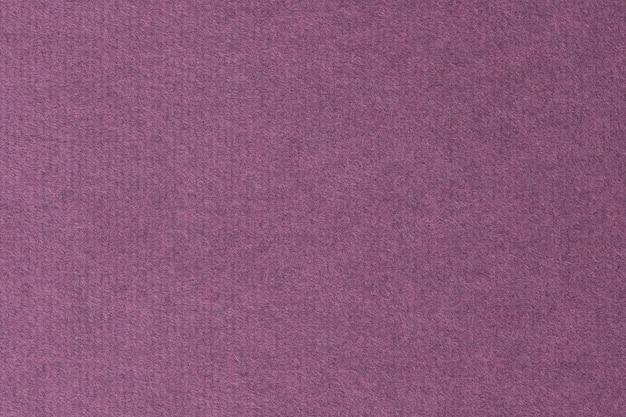 Arrière-plan du modèle de papier fibre violet uni