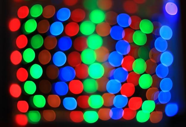 Arrière-plan festif flou clair. photo avec espace copie