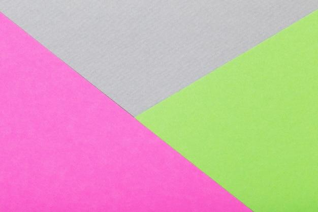 Arrière-plan de feuilles colorées de vue de dessus en carton