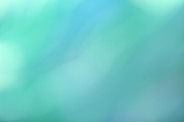 Arrière-plan flou bleu clair et turquoise. toile de fond dégradé cyan abstrait art défocalisé avec flou et bokeh. fond d'écran flou.