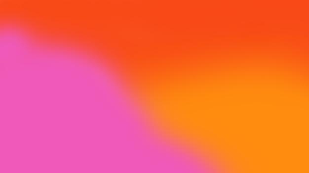 Arrière-plan flou ou dégradé de couleur moderne en rouge, orange, rose color.no people.