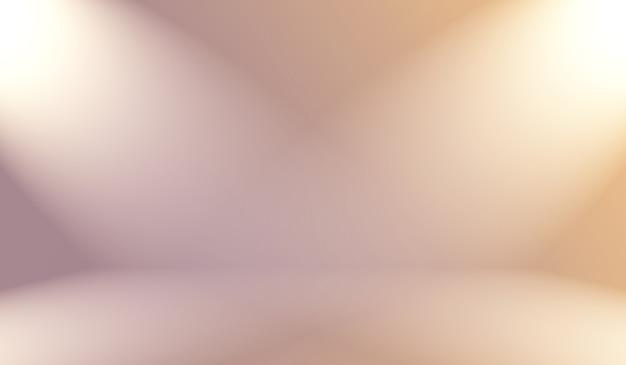 Un arrière-plan flou dégradé vintage doux avec une couleur pastel bien utilisée comme salle de studio, présentation de produit et bannière.