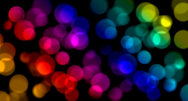 Arrière-plan flou flou coloré