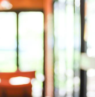 Arrière-plan flou: à l'intérieur du café arrière-plan flou au bokeh