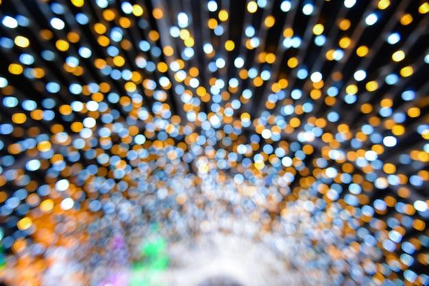 Arrière-plan avec des lumières colorées