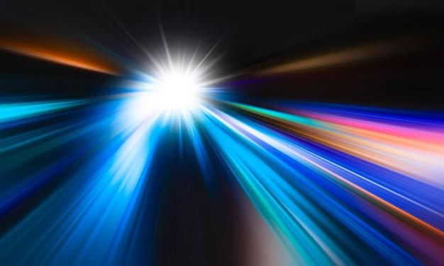 Arrière-plan de mouvement de vitesse abstraite