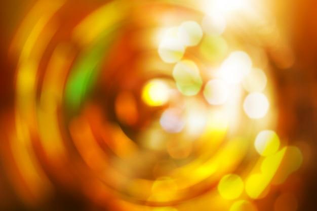 Arrière-plan de nouvel an flou coloré bokeh motion light.