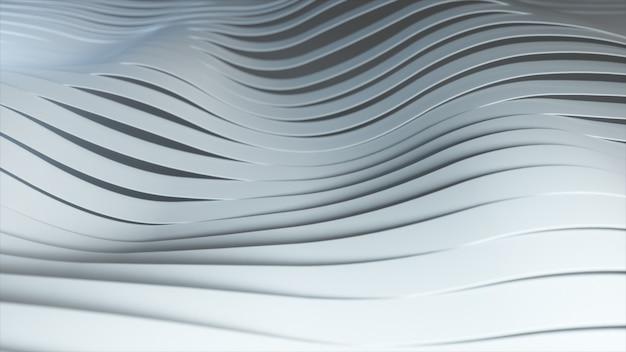 Arrière-plan de rangées de rayures blanches pop-up multicolores