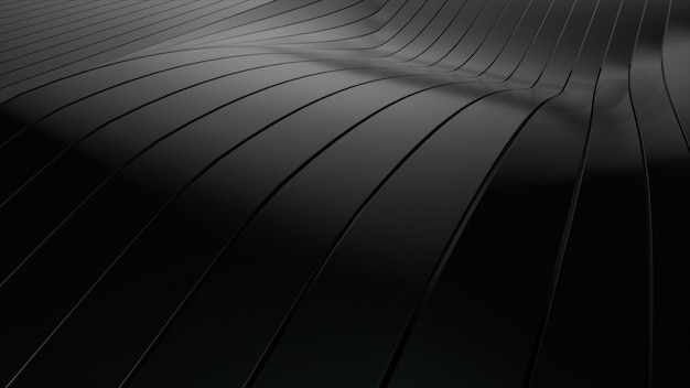 Arrière-plan de rangées de rayures noires pop-up multicolores