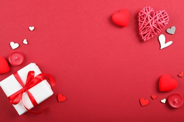 Arrière-plan de la saint-valentin avec place pour insérer du texte