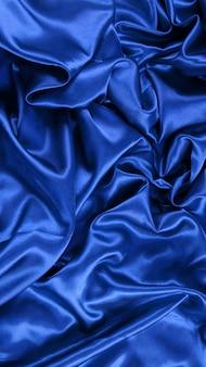 Arrière-plan de satin bleu
