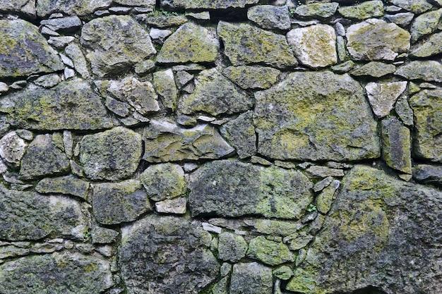 Arrière-plan, texture - ancienne maçonnerie au sous-sol de la forteresse médiévale