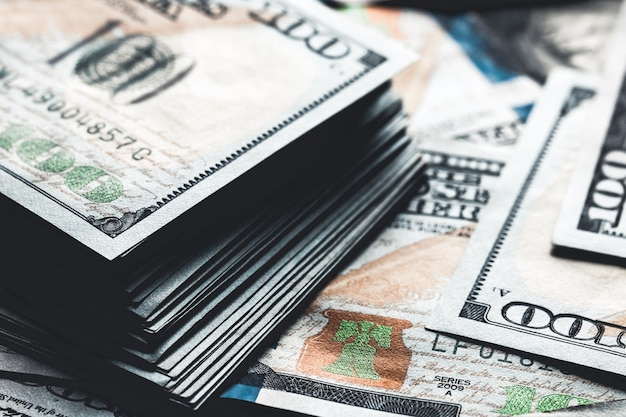 Arrière-plan transparent de dollars. texture transparente haute résolution