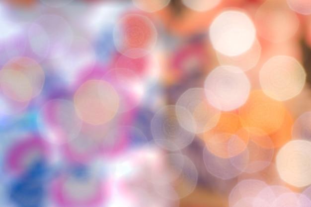 Arrière-plans de bokeh de couleur floue oignon coloré