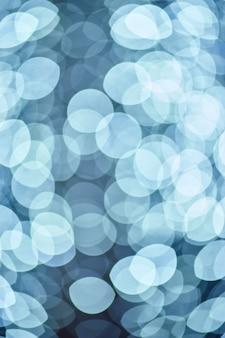 Arrière-plans Clairs Abstraits Bokeh Bleu Photo Premium