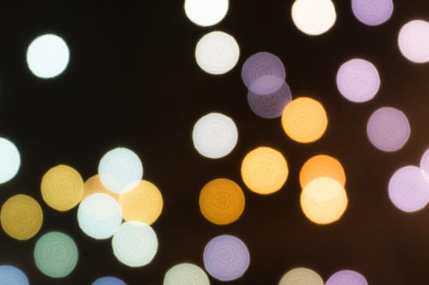 Arrière-plans colorés de bokeh, arrière-plans de bokeh de couleur floue oignon
