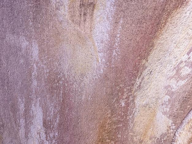 Art abstrait couleur brune et blanche.