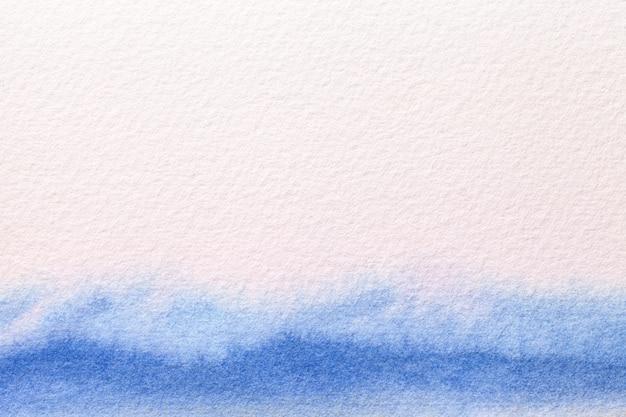 Art abstrait couleurs blanc et bleu clair.