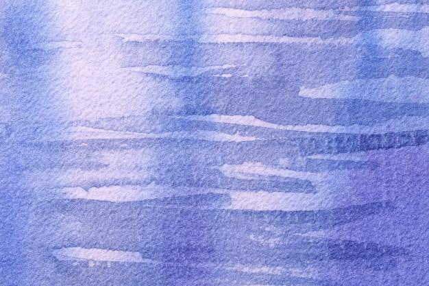 Art abstrait couleurs bleu clair et blanc.