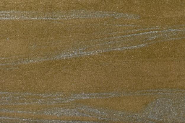 Art abstrait, fond foncé, olive, couleur argentée, peinture multicolore sur toile,