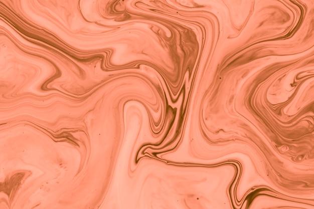 Art contemporain acrylique saumon
