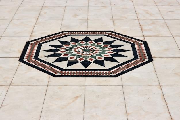 Art dans le musée al tayebat dans la ville de jeddah, arabie saoudite