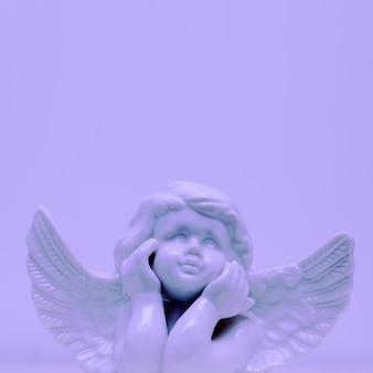 Art de décor minimal de statue d'ange