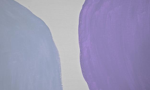 Art du milieu du siècle en terre cuite pastel neutre bleu pâle et texture violet clair