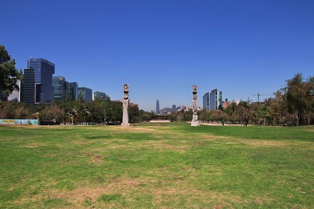 L'art du parc arauco à santiago du chili