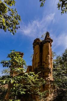 L'art de la nature, pha chor grand canyon dans la province de chiang mai, thaïlande