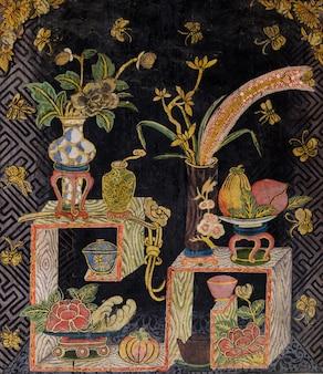 Art thaïlandais ancien à la chinoise